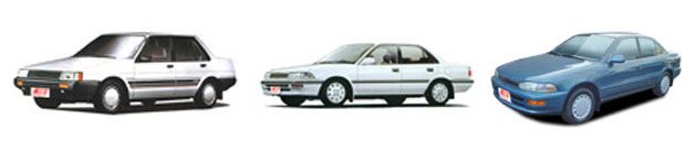 FIND NEW AFTERMARKET PARTS TO SUIT TOYOTA COROLLA AE/EE 1986-1998