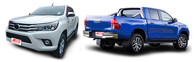 FIND NEW AFTERMARKET PARTS TO SUIT TOYOTA HILUX 2015-