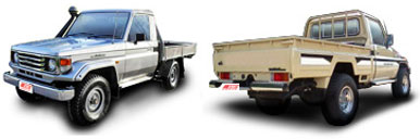 FIND NEW AFTERMARKET PARTS TO SUIT TOYOTA LANDCRUISER FJ75 2003-
