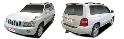 FIND NEW AFTERMARKET PARTS TO SUIT TOYOTA HIGHLANDER/KLUGER 2000-