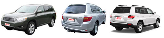 FIND NEW AFTERMARKET PARTS TO SUIT HIGHLANDER/KLUGER 2008-