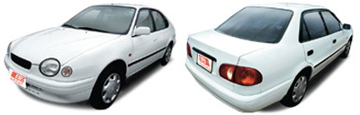 FIND NEW AFTERMARKET PARTS TO SUIT TOYOTA COROLLA AE111 1998-2001