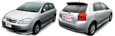 FIND NEW AFTERMARKET PARTS TO SUIT TOYOTA COROLLA ZZE 2004-