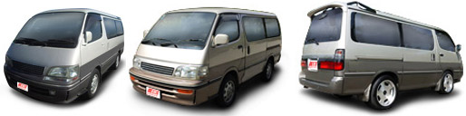 FIND NEW AFTERMARKET PARTS TO SUIT TOYOTA HIACE 1995-