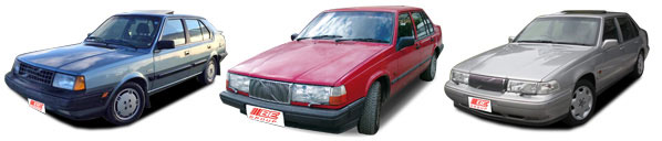 FIND NEW AFTERMARKET PARTS TO SUIT VOLVO 240/260/340/360/740/760/940/960