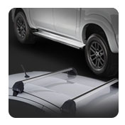 FIND NEW AFTERMARKET PARTS TO SUIT RUNNING BOARDS-ROOF RACK