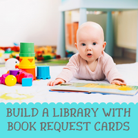 Build a Library with Book Request Cards