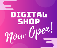 Our Digital Shop is Now Open!