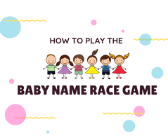 How to Play Baby Name Race