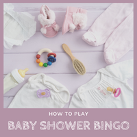 How to Play Baby Shower BINGO