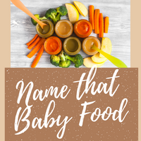 """How to Play """"Name that Baby Food"""" Baby Shower Game"""