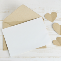 """Thank You"" Card Raffle Baby Shower Idea"