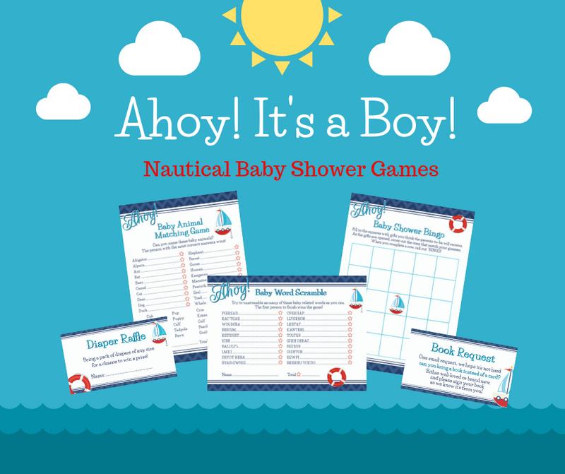 Ahoy! Fun Baby Shower Games Ahead!