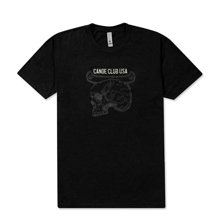 Canoe Club USA T-shirt Black
