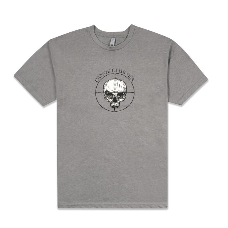Canoe Club USA T-shirt Grey Bullseye