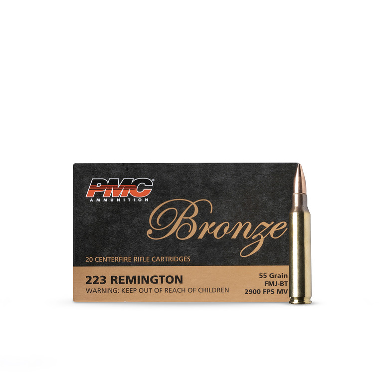 .223 55GR FMJ-BT PMC (1000 rounds)