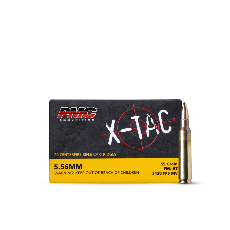 5.56 55GR FMJ-BT PMC (1000 rounds)