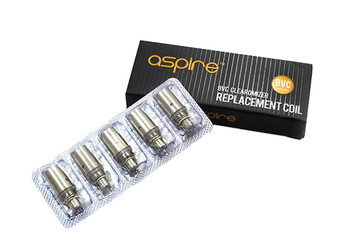 Aspire BVC General Coils (NOT For Nautilus/mini) 5 piece