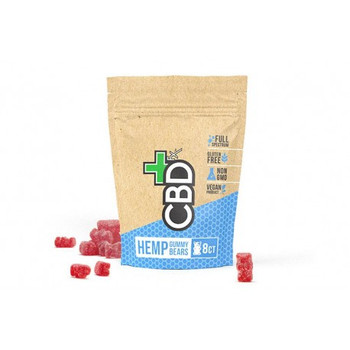 CBDfx Gummy Bears in Pouch.