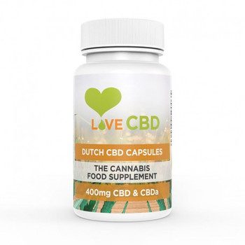 Love CBD Dutch Capsules 400mg (5mg x 80)