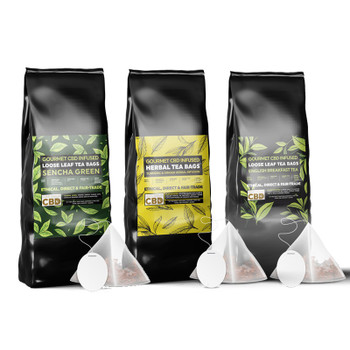 CBD Infused Tea (12-Pack)