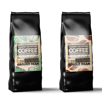 CBD INFUSED COFFEE - 100G 100MG CBD