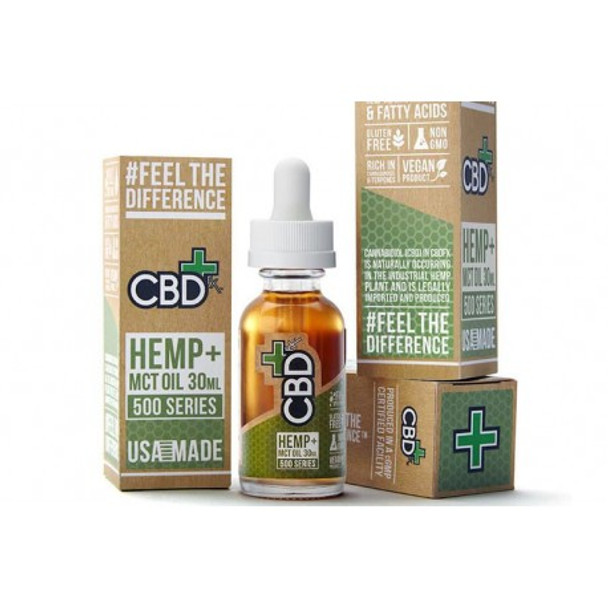 CBDfx Hemp & MCT Oil Tincture