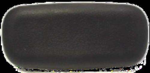 Black Generic Flat Pillow w/ pins