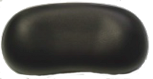 Black Ergonomic Bean Shape Pillow w/ pins