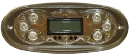 TP600  6 Button Topside (Wi-Fi Capable)