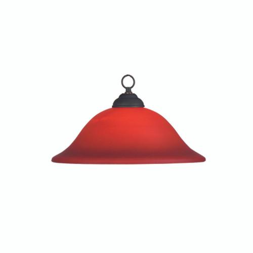 Marseilles Burgundy Billiard Pendant Lamp