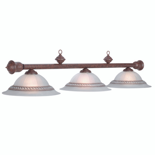 Corda Old Brown Billiard Lamp