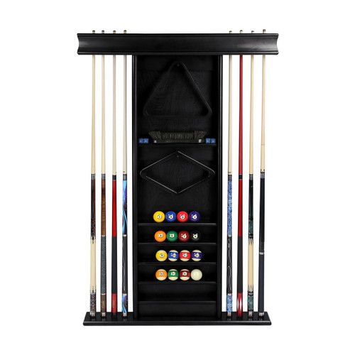 Imperial Deluxe Wall Rack--Black