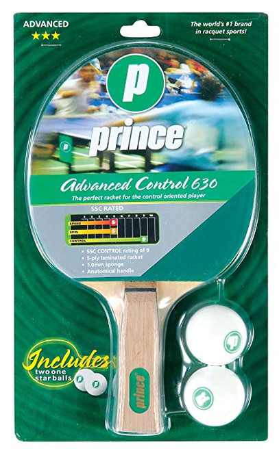 Prince Advanced Control 630 Table Tennis Paddle