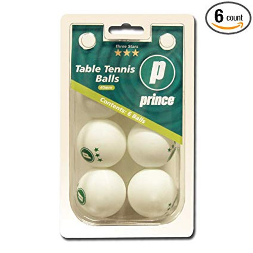 Prince White 3 Star Table Tennis Balls