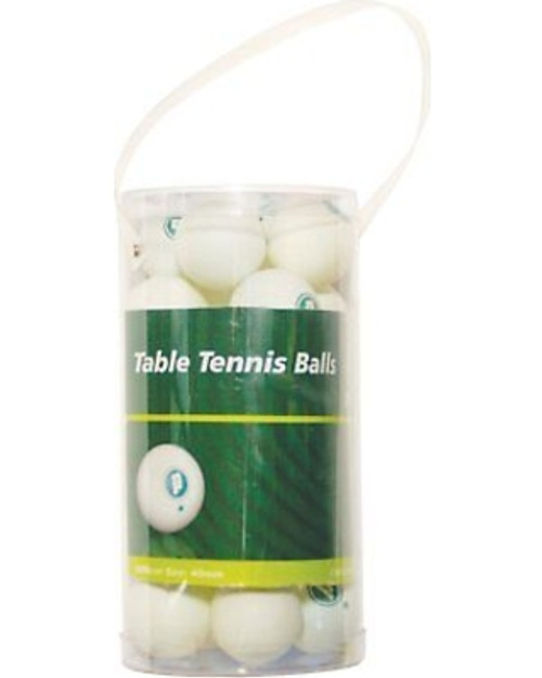 Prince White 1 Star Table Tennis Balls--24 Pack