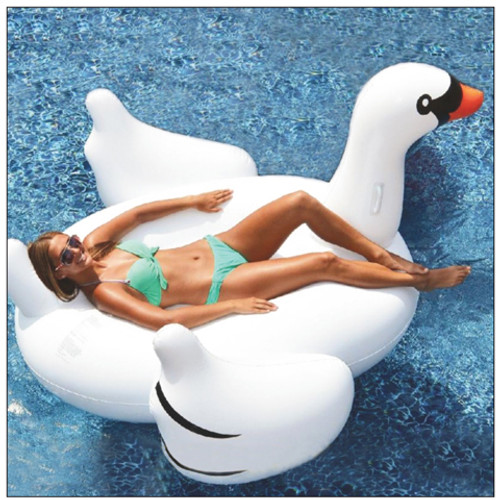 Inflatable Giant Swan