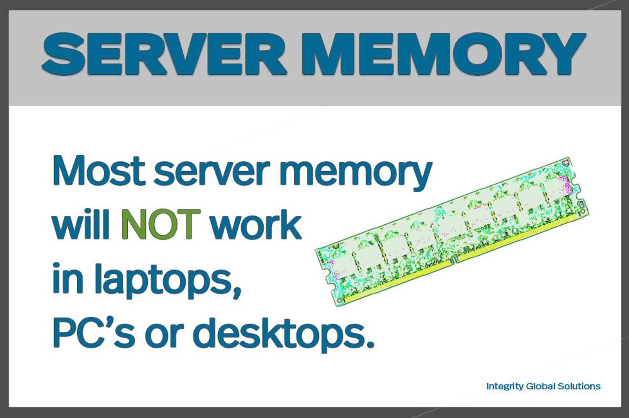 HPE HPE HP 731656-081 8GB 1RX4 PC3L-12800R ECC DDR3-1600 DIMM Server Memory