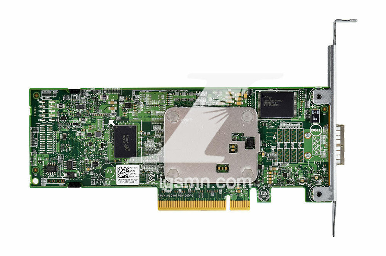 IGSMN.com , Integrity Global Solutions, Dell WH3W8 PowerEdge PERC H830 PCIe RAID Storage Controller