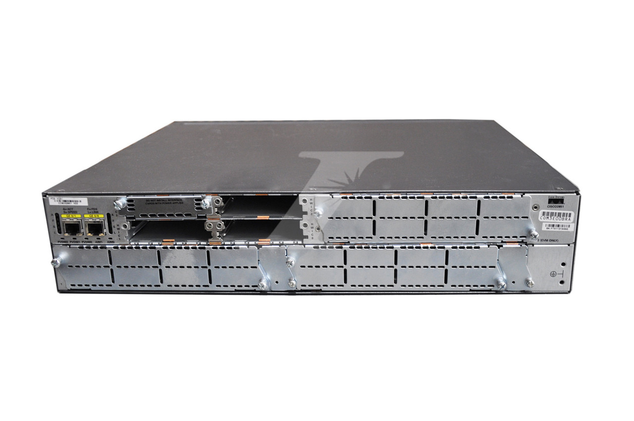 Cisco CISCO2851-SEC//K9 2851 Integrated Services Router