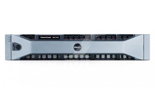 Dell Dell PowerVault MD1220 Dual Controller 24x 900GB 10K SAS H200e SAS Card 2x Mini SAS Cables 2 PSU Rails and Power Cords Server Bundle