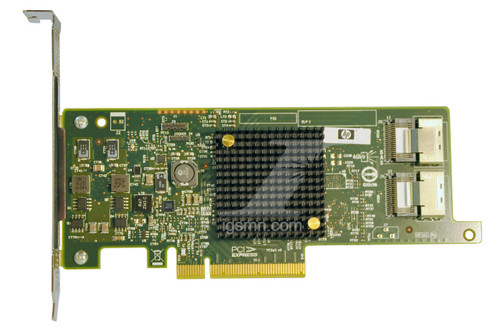 IGSMN.com:  Integrity Global Solutions; HPE HP 660088-001 H220 PCI-e 8-Channel 6Gbps SAS SATA Host Bus Adapter