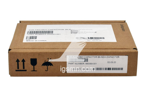 HPE HPE HP 660093-001 FS Capacitor Battery Pack 36 with Cable New Factory Sealed