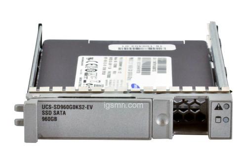 Cisco Cisco UCS-SD960G0KS2-EV 960GB 6Gbps SATA 2.5 Inch Solid State Drive