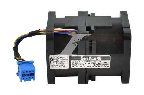 Dell Dell G865J CPU Fan Assembly for PowerEdge R410