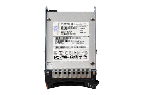 IBM IBM 49Y6130 200GB 2.5 SFF Hot- Swap Solid State SSD Internal Hard Drive