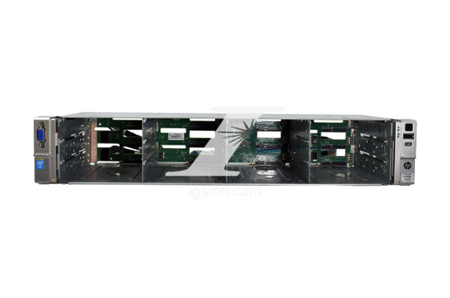 HPE HPE HP 686570-001 12-LFF Front Cage W/ Backplane board, Cables, and Ears