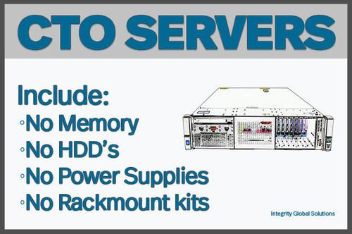 HPE HPE HP 767033-B21 HPE ProLiant DL380 Gen9 2U 4LFF CTO Rackmount Server