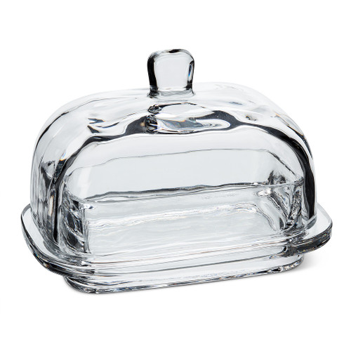 Large Rectangle Covered Butter Dish