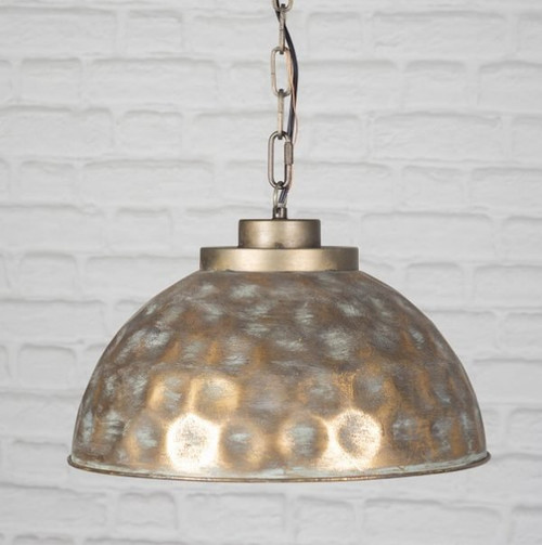 Hammered Lamp